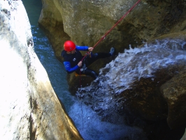 Canyoning, climbing and speleology